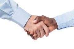 businessmen handshake two 图库摄影