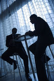Businessmen Having Coffee Royalty Free Stock Photography