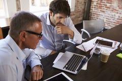 Businessmen Having Creative Brainstorming Meeting In Office Royalty Free Stock Images