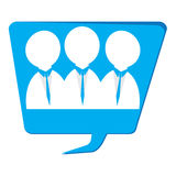 Businessmen icon Royalty Free Stock Images