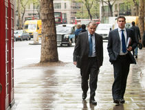 Businessmen in London Stock Images