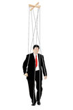 Businessmen - marionette Stock Image