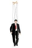 Businessmen - Marionette Stock Image