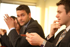 Businessmen meeting royalty free stock photography