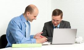 Businessmen meeting Royalty Free Stock Photos