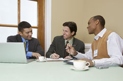 Businessmen In Meeting Royalty Free Stock Image