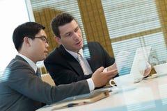 Businessmen meeting Royalty Free Stock Image