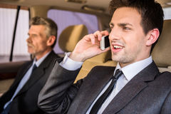 Businessmen at a meeting Royalty Free Stock Photo