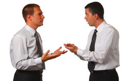 Businessmen negotiating Stock Photography