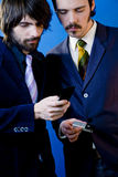 Businessmen networking Royalty Free Stock Photography