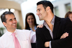 Businessmen at the office Stock Photography