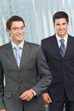 Businessmen at office Stock Photography
