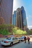Businessmen at Penn Center in Philadelphia Royalty Free Stock Image