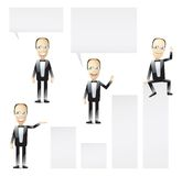 Businessmen presentation Royalty Free Stock Photography