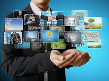 Businessmen and Reaching images streaming Stock Images