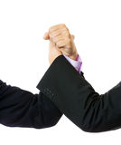 Businessmen rival comptetition Royalty Free Stock Photo