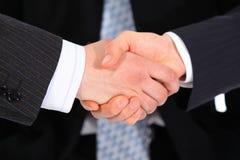 Businessmen`s handshake Stock Images