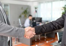 Businessmen's handshake Stock Photography