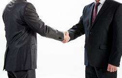 Businessmen shake hands Royalty Free Stock Image