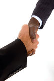 Businessmen shaking hands Royalty Free Stock Images
