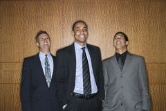 Businessmen Smiling and Laughing stock images