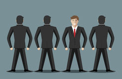 Businessmen standing Royalty Free Stock Image