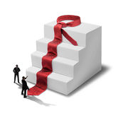 Businessmen success steps Royalty Free Stock Images