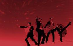 Businessmen Superheroes Inspiration Leadership Success Concept Stock Images