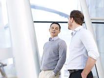 Businessmen talking Royalty Free Stock Photo