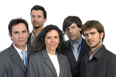 Businessmen team Stock Photography