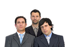 Businessmen team Stock Image