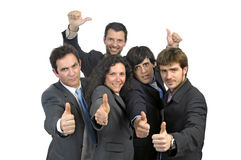 Businessmen team Royalty Free Stock Photos