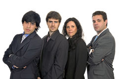 Businessmen team Royalty Free Stock Photography