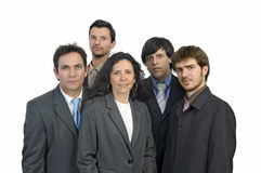 Businessmen team Stock Photos