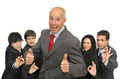 Businessmen team Stock Photography
