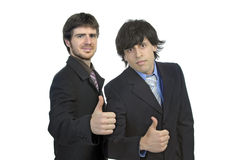 Businessmen team Royalty Free Stock Photo