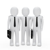 Businessmen teamwork Stock Images