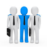 Businessmen teamwork Royalty Free Stock Photos