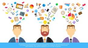 Businessmen Thinking Business Ideas Inspiration Stock Photo