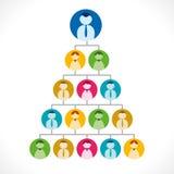 Businessmen tree Stock Photography