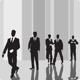 Businessmen vip-persons Royalty Free Stock Photos