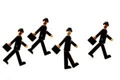 Businessmen walking Stock Photography