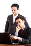 Businessmen at work Royalty Free Stock Image