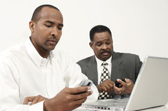 Businessmen Working Stock Photo