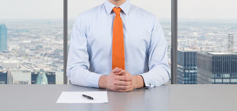 Businessmen working Stock Images