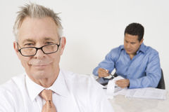 Businessmen Working In Office Stock Image