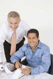 Businessmen Working In Office Stock Photography