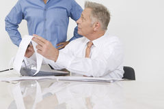 Businessmen Working In Office Royalty Free Stock Photo