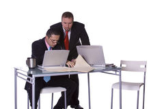 Businessmen Working Together Stock Photos