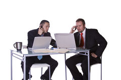 Businessmen Working Together Royalty Free Stock Photos